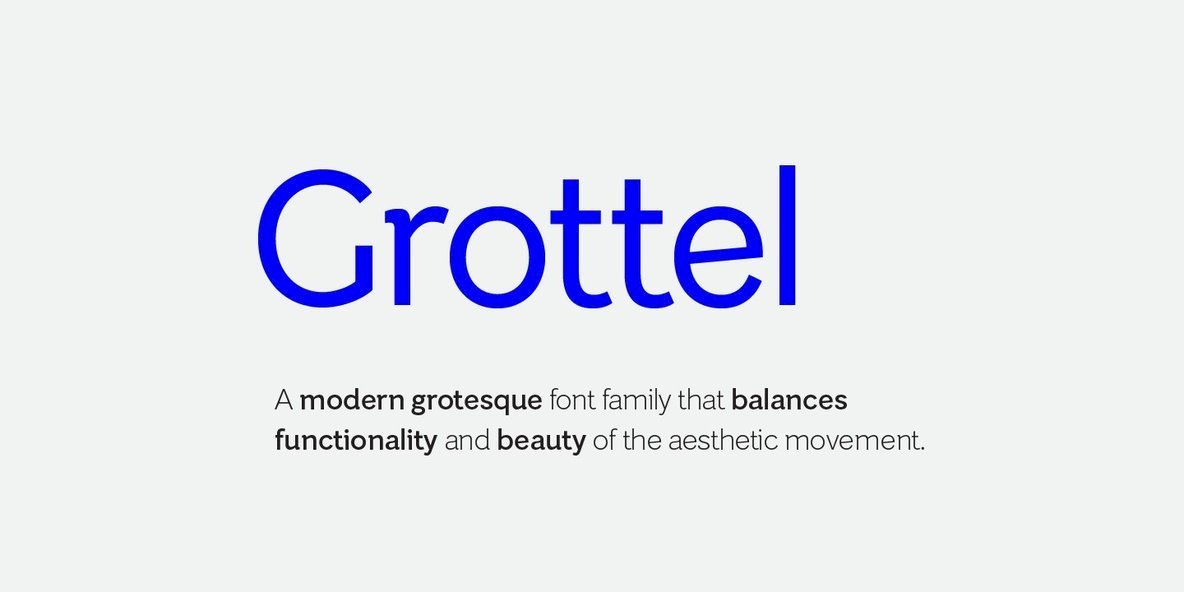 Grottel-Font