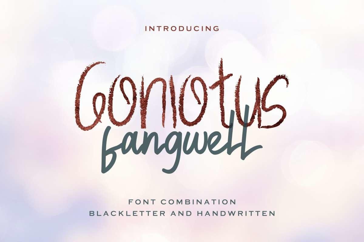 Gonlotus-Fangwell-Font