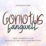 Gonlotus Fangwell Font Duo