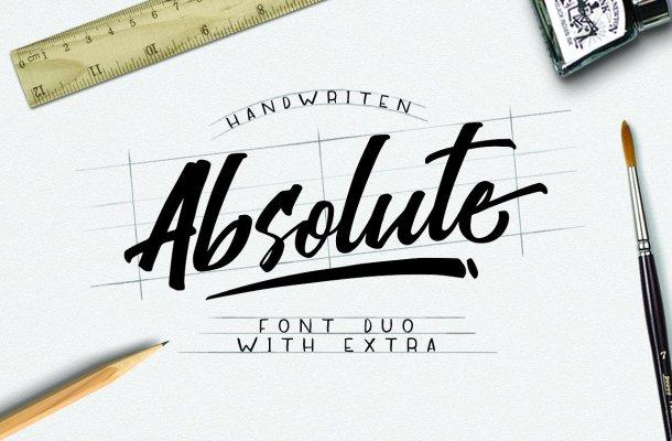Absolute Script Font