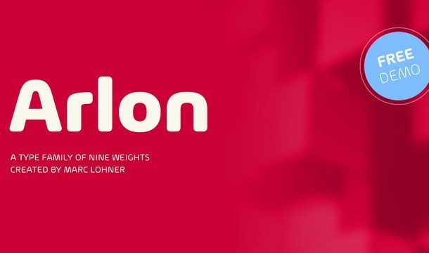 Arlon Font Family
