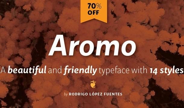 Aromo Font Family