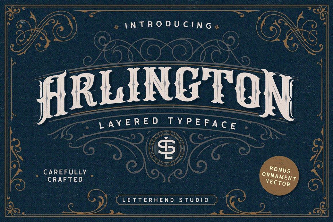 Arlington-Font