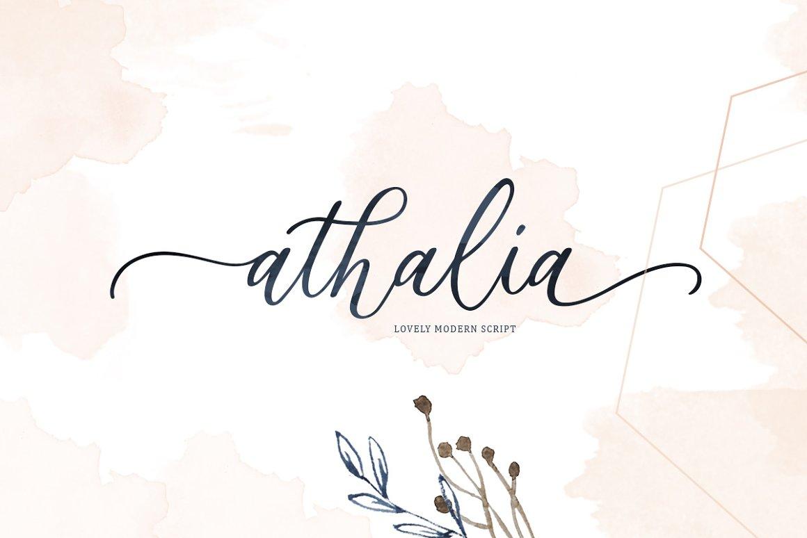 Athalia-Font