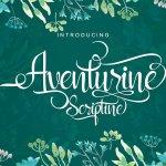Aventurine Script Font