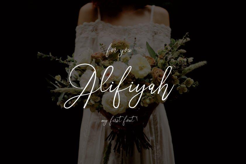 Alifiyah-Font
