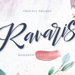 Ravaris Script Font