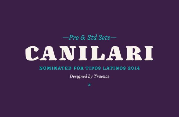 Canilari Font Family