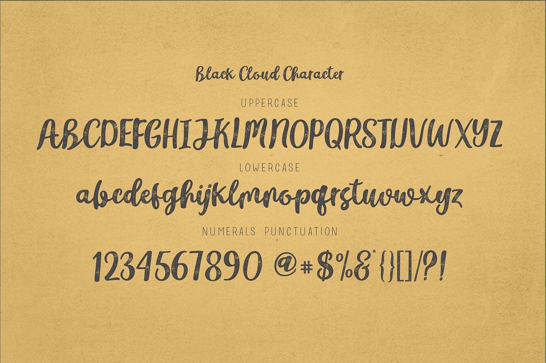 Black-Cloud-Font-3