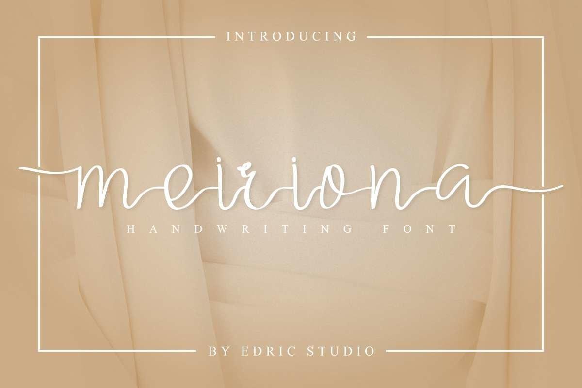 Meiriona-Font