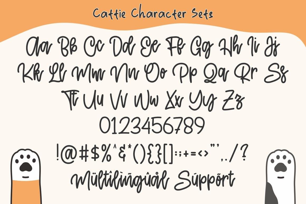 Cattie-Cute-Font-3