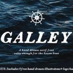 Galley Serif Font