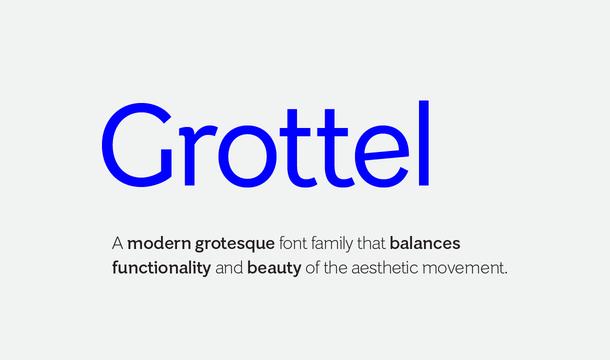 Grottel Font Family