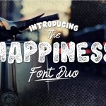 Happiness Font Duo