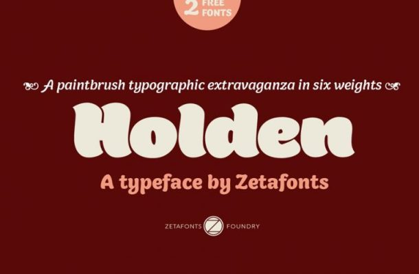 Holden Font Family