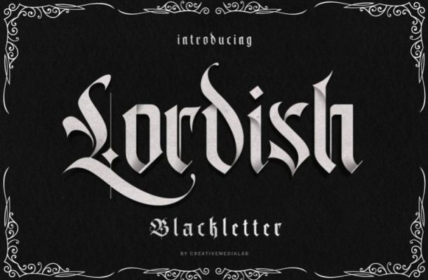 Lordish Typeface
