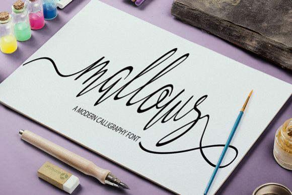 Mallows Script Font