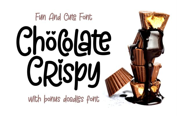 Chöcolate Crispy – Fun and Cute Font