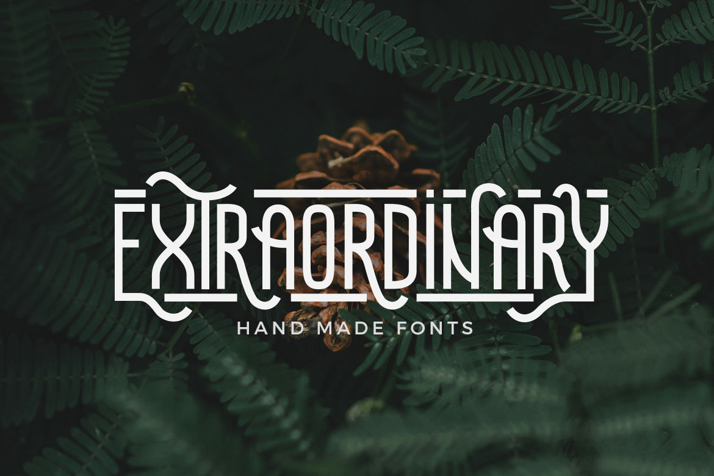 Extraordinary-Font