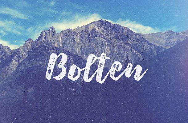 Bolten Script Font