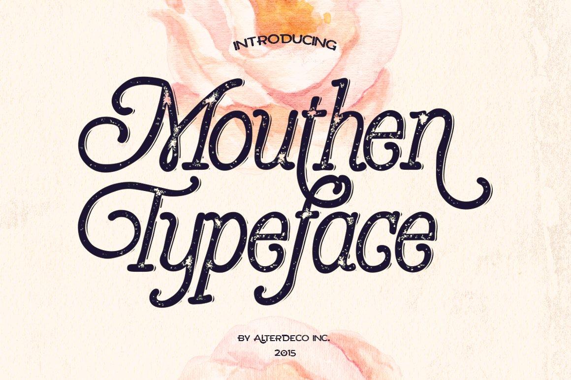 Mouthen-Font