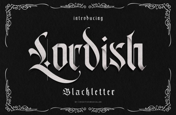 Lordish Typeface Font