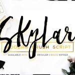 Skylar Font Bold Regular