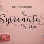 Syirenata Script Font