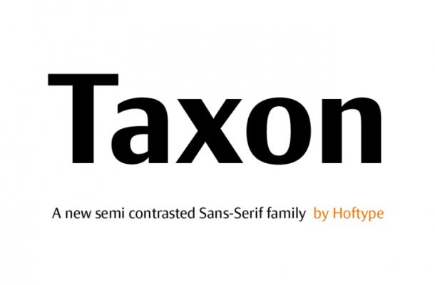 Taxon Font Family
