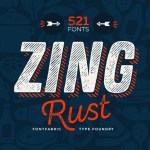 Zing Rust Font Family