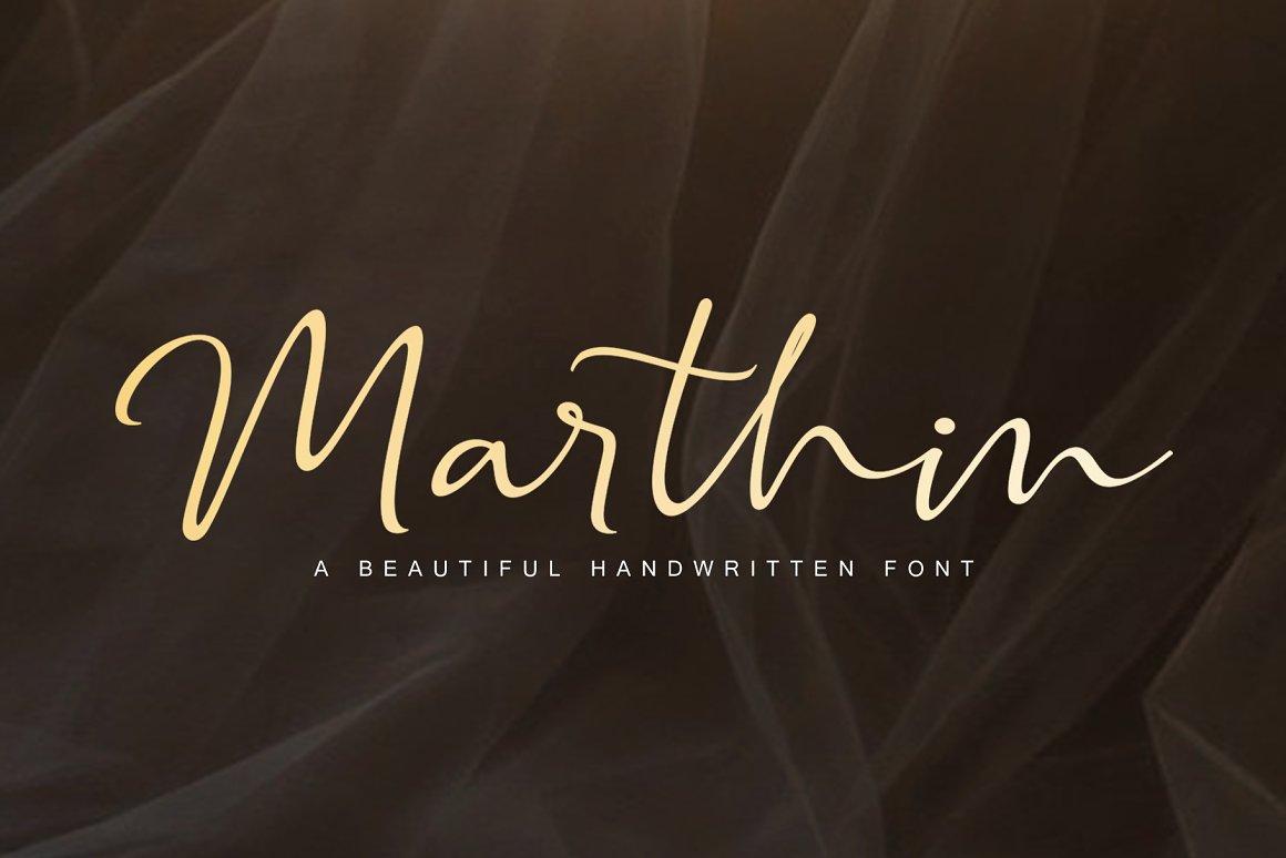 Marthin-Beautiful-Font