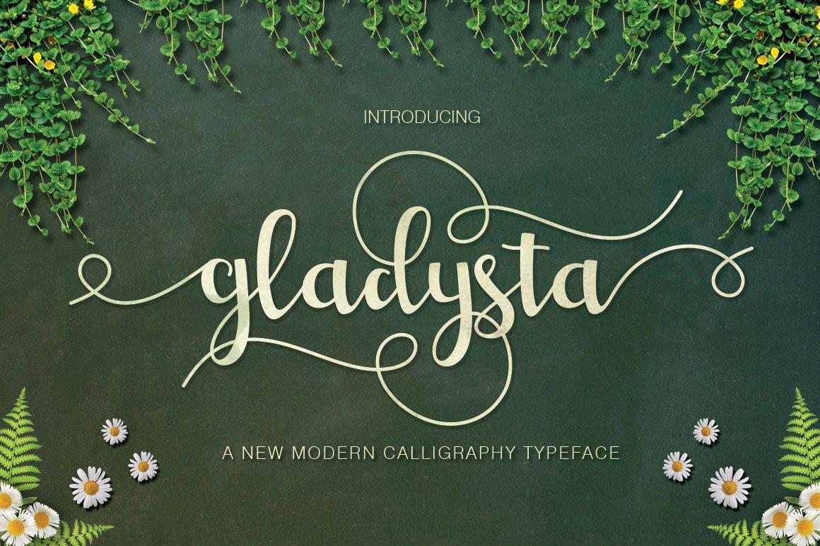 Gladysta-Font