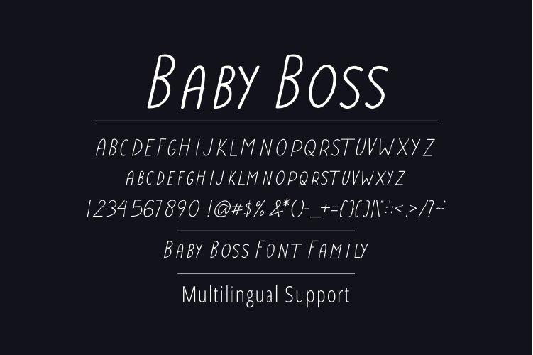 Baby-Boss-Font-3