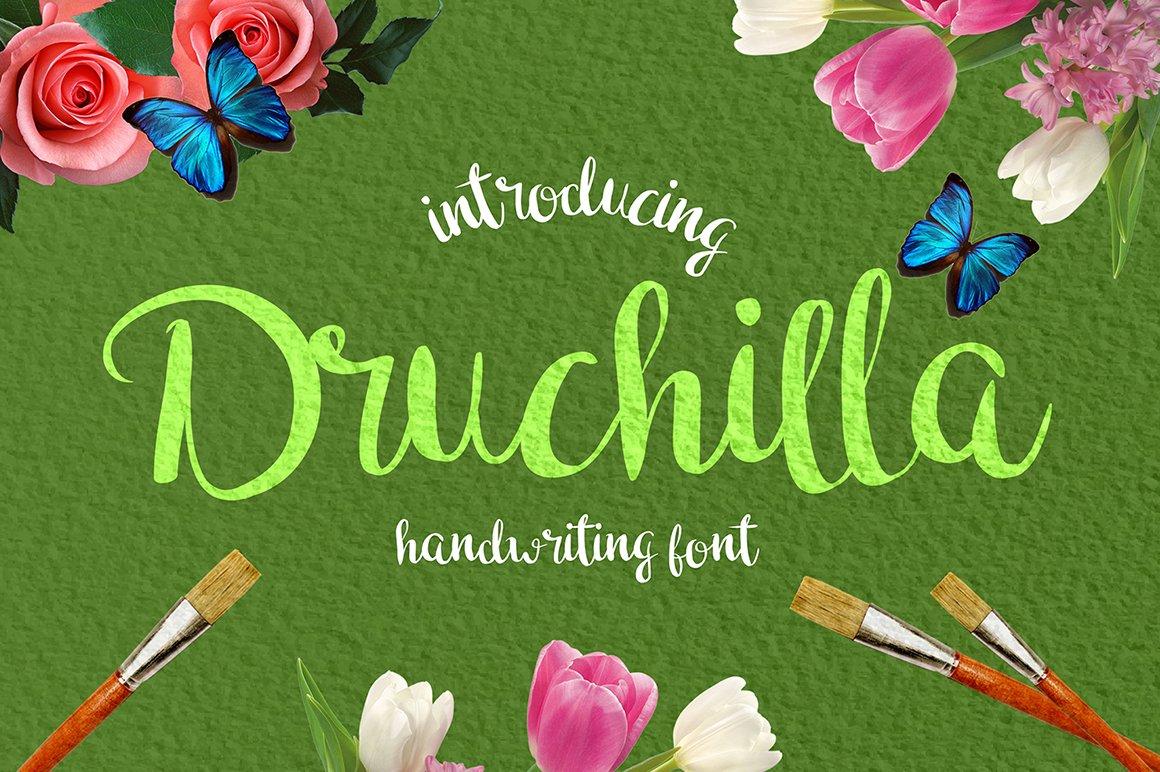 Druchilla-Font