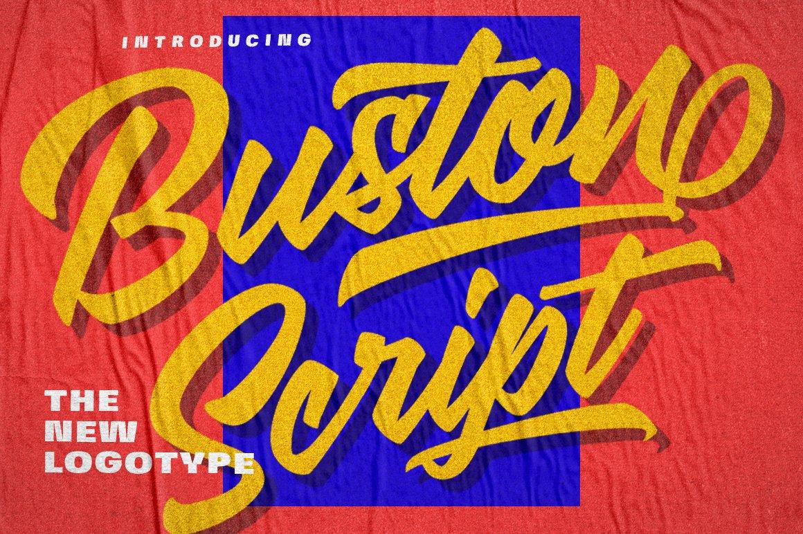 Buston-Font