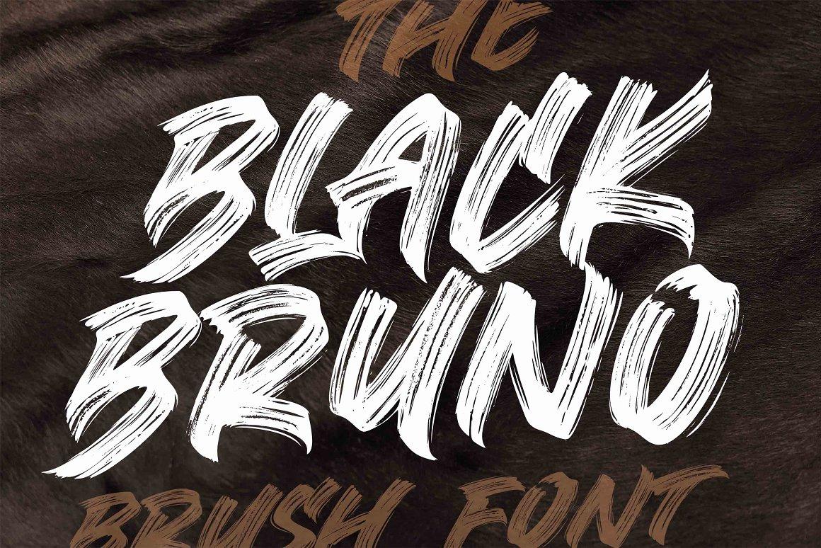 Black-Bruno-Font