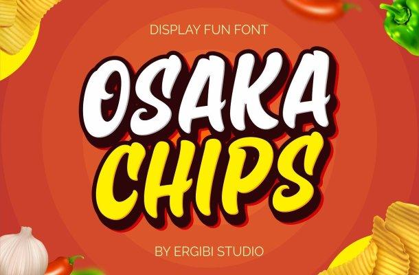 Osaka Chips Fun Font