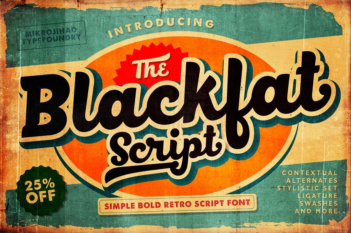 BlackFat-Font