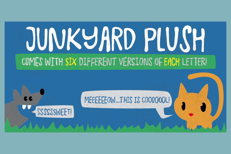 Junkyard-Plush-Font