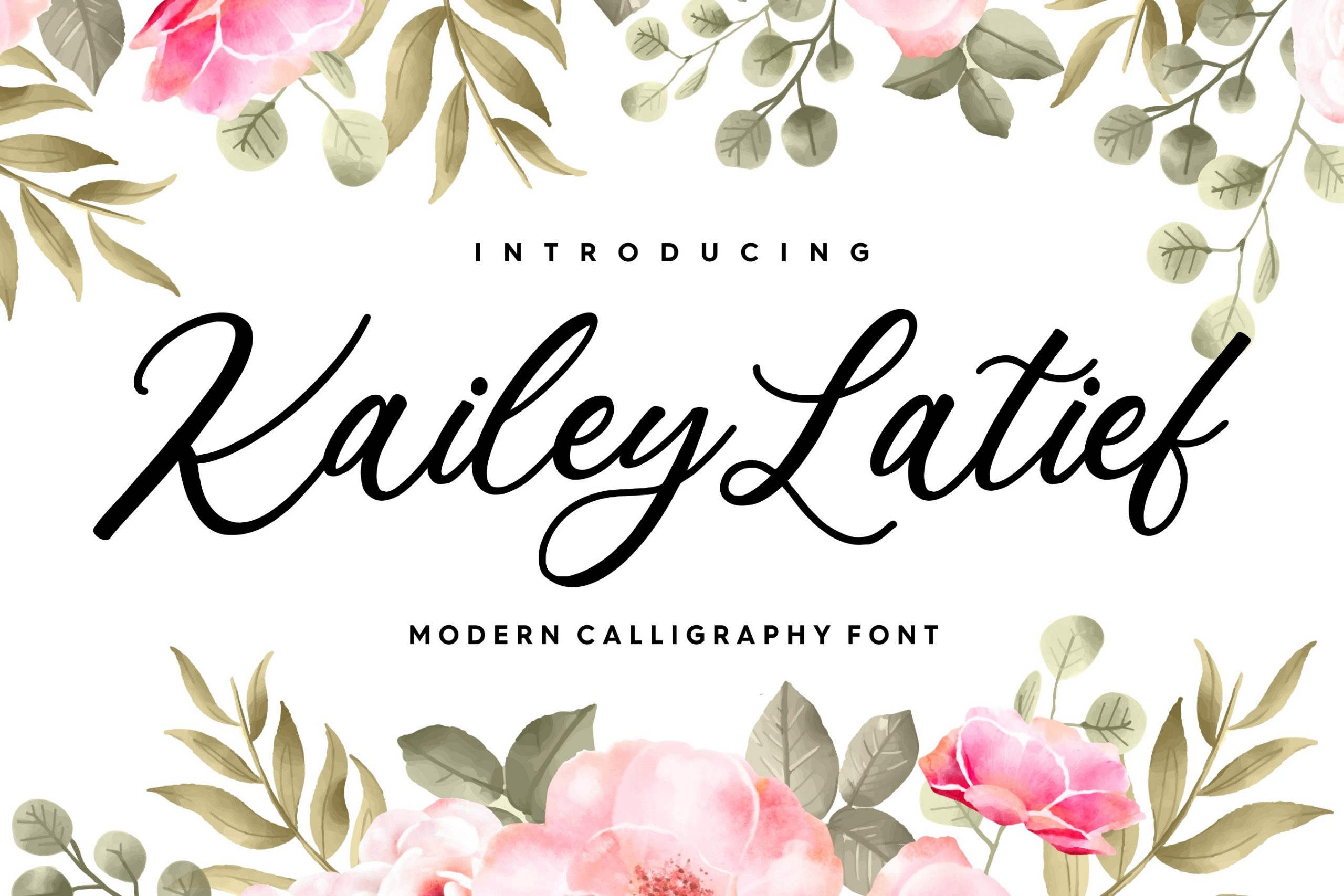Kailey-Latief-Font