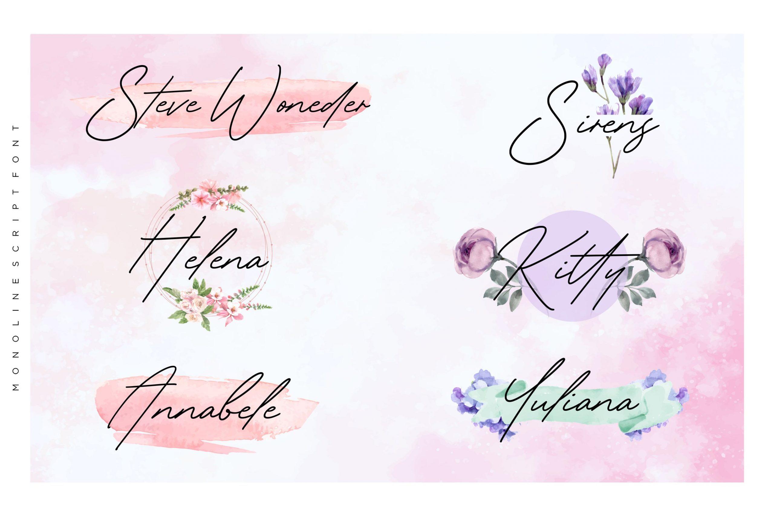 Gardenia-Summer-Font-2