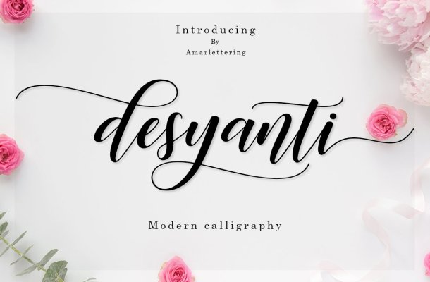 Desyanti Script Font