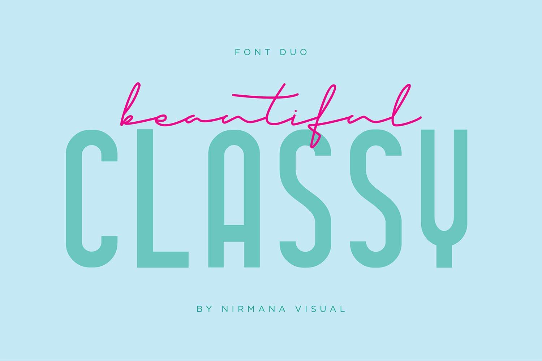 Classy-Beautiful-Font