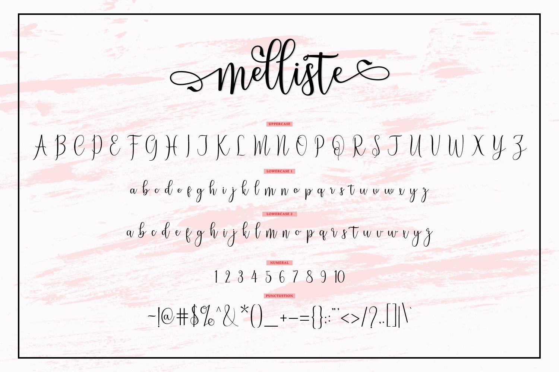 Melliste-Font-3
