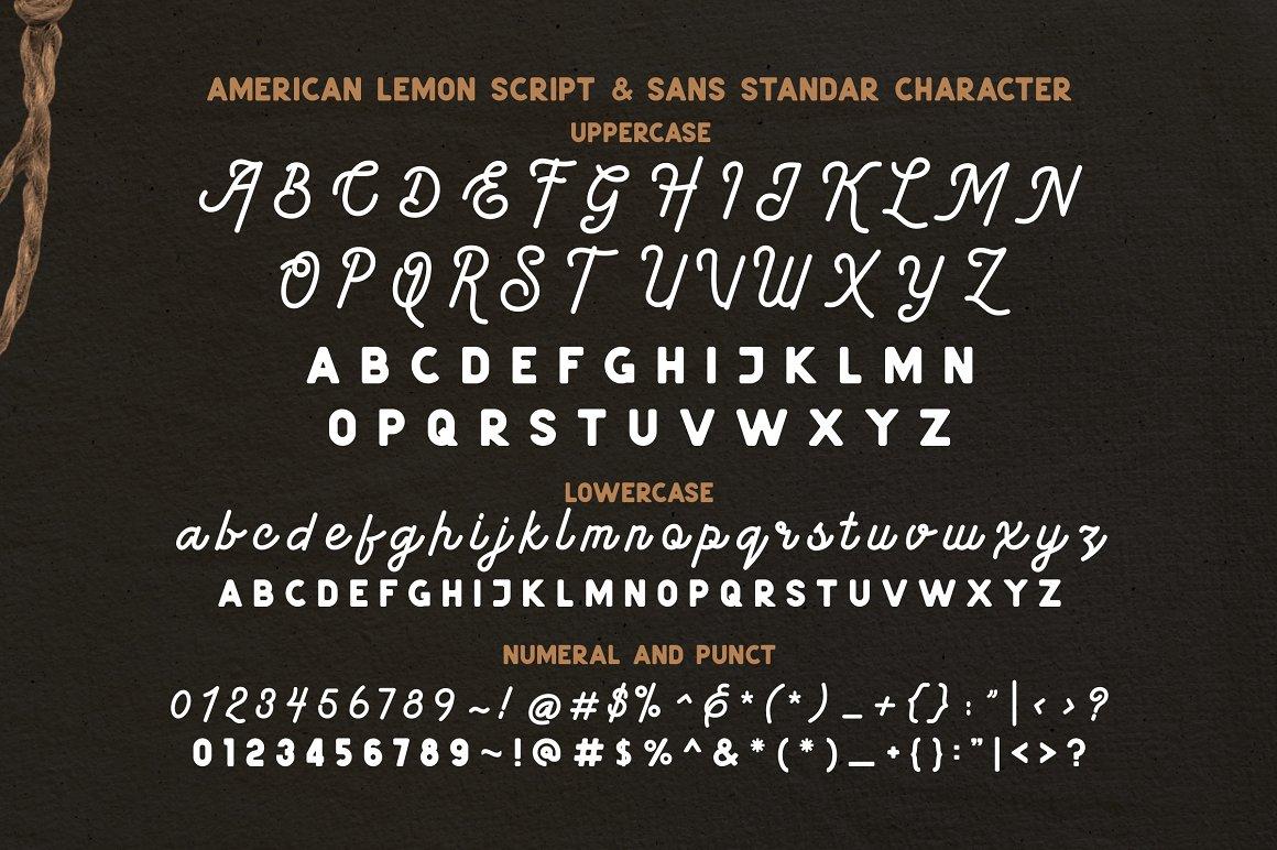 American-Lemon-Font-4