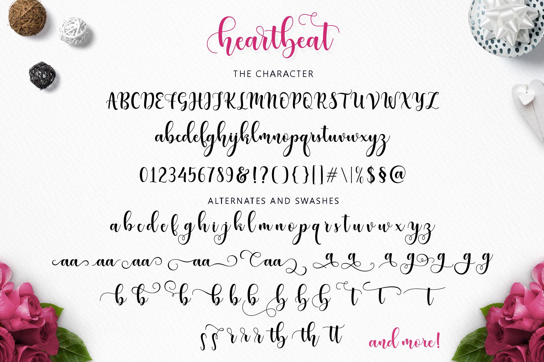 Heartbeat-Font-3