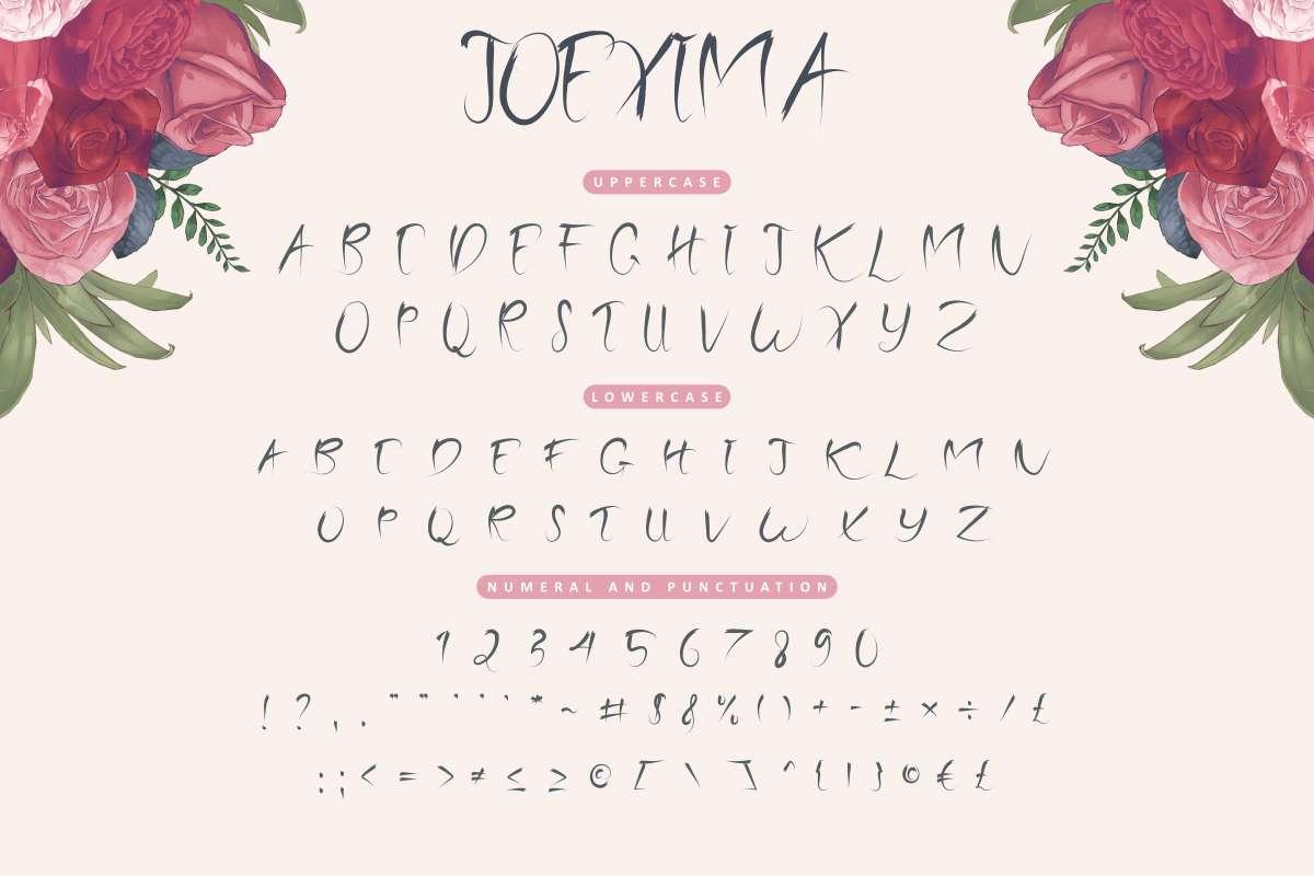 Joexima-Font-3
