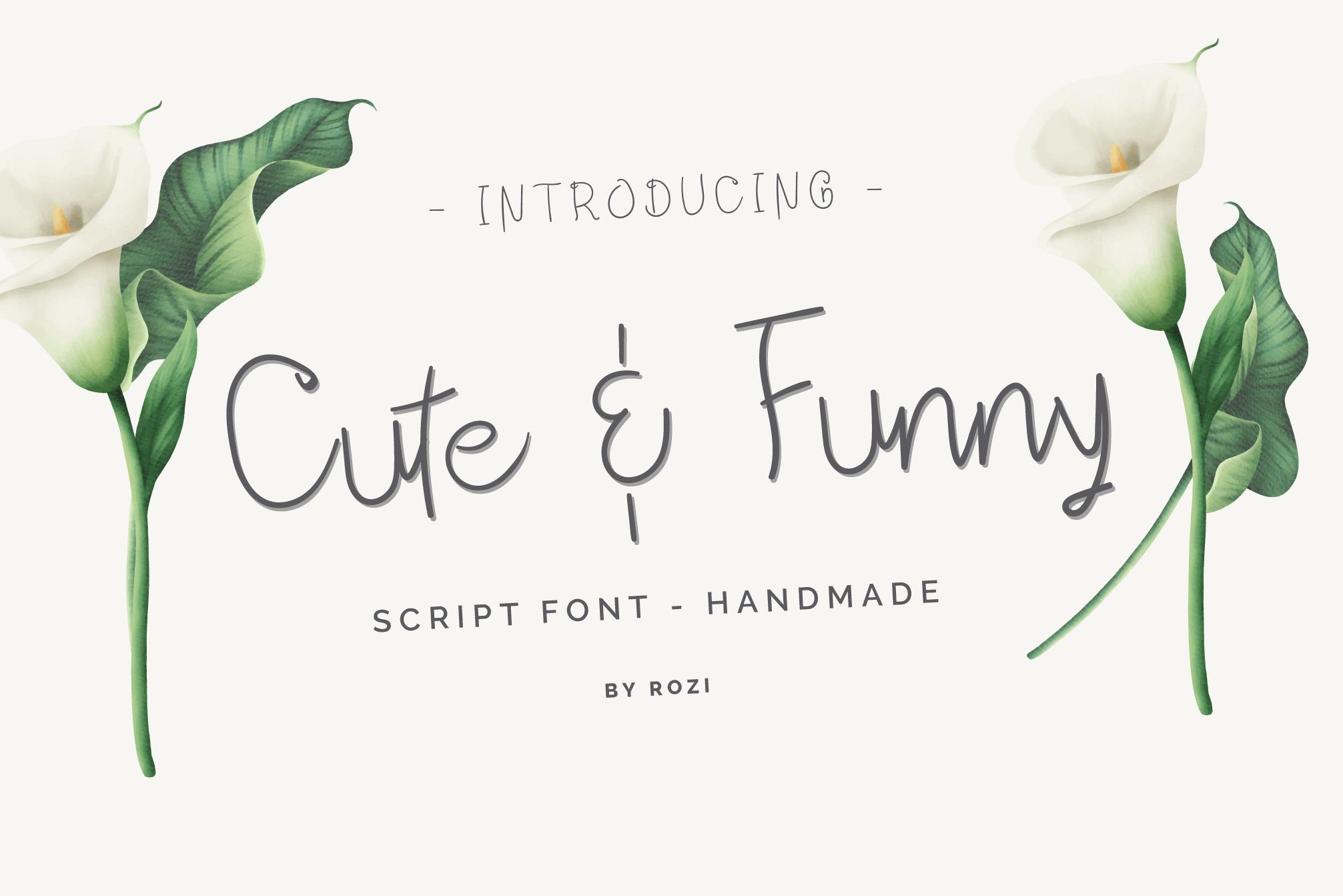Cute-Funny-Font
