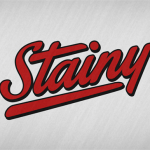 Stainy font