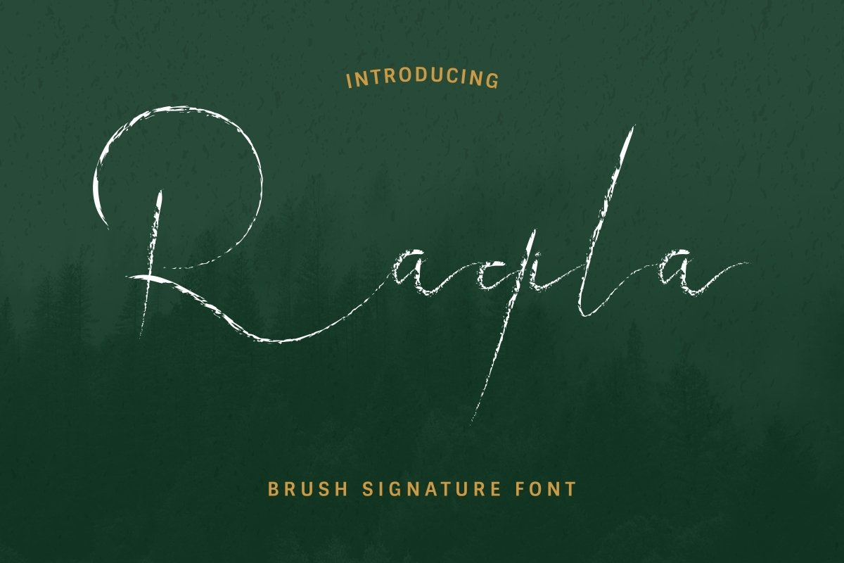 Raqila-Rough-Font